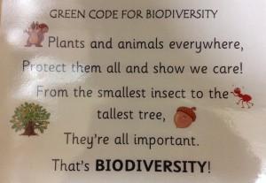 biodiversity slogan